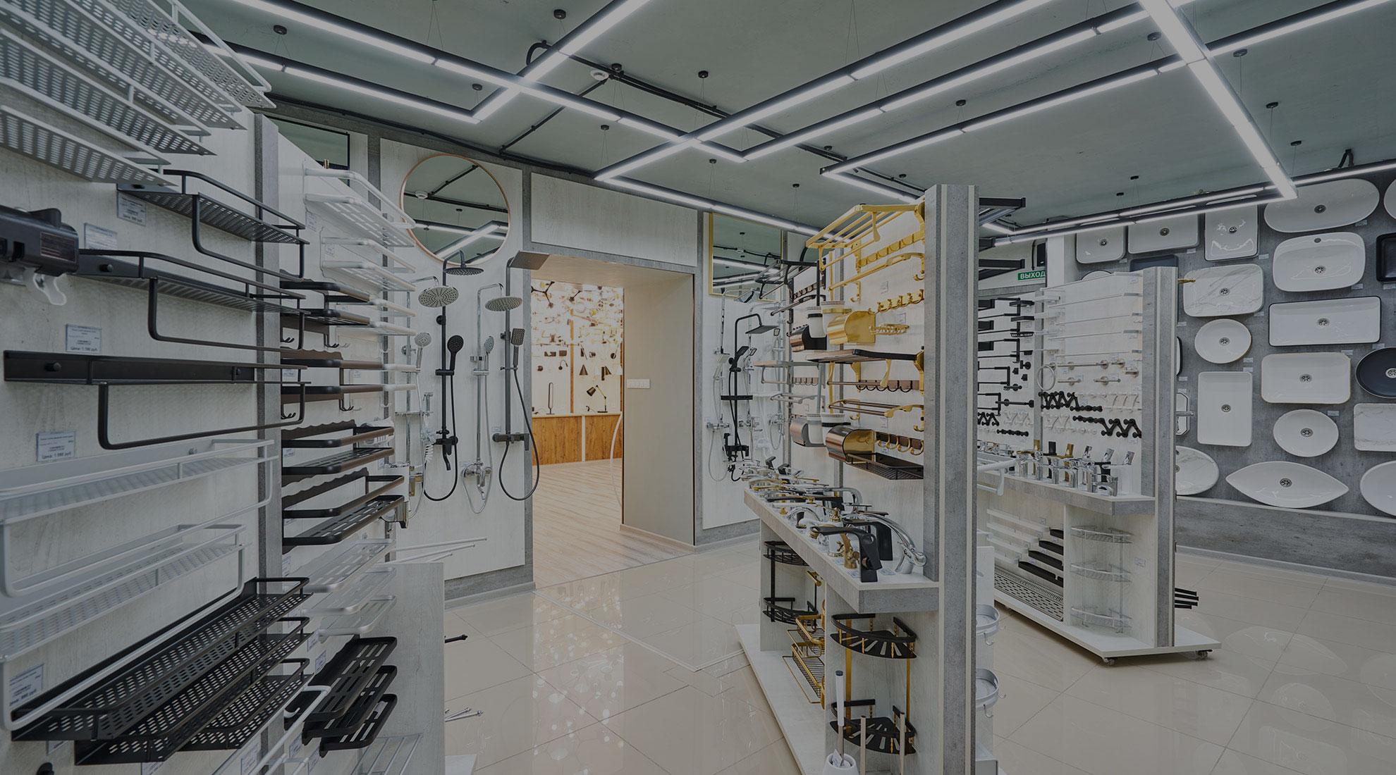 фотография магазина - отдел сантехники