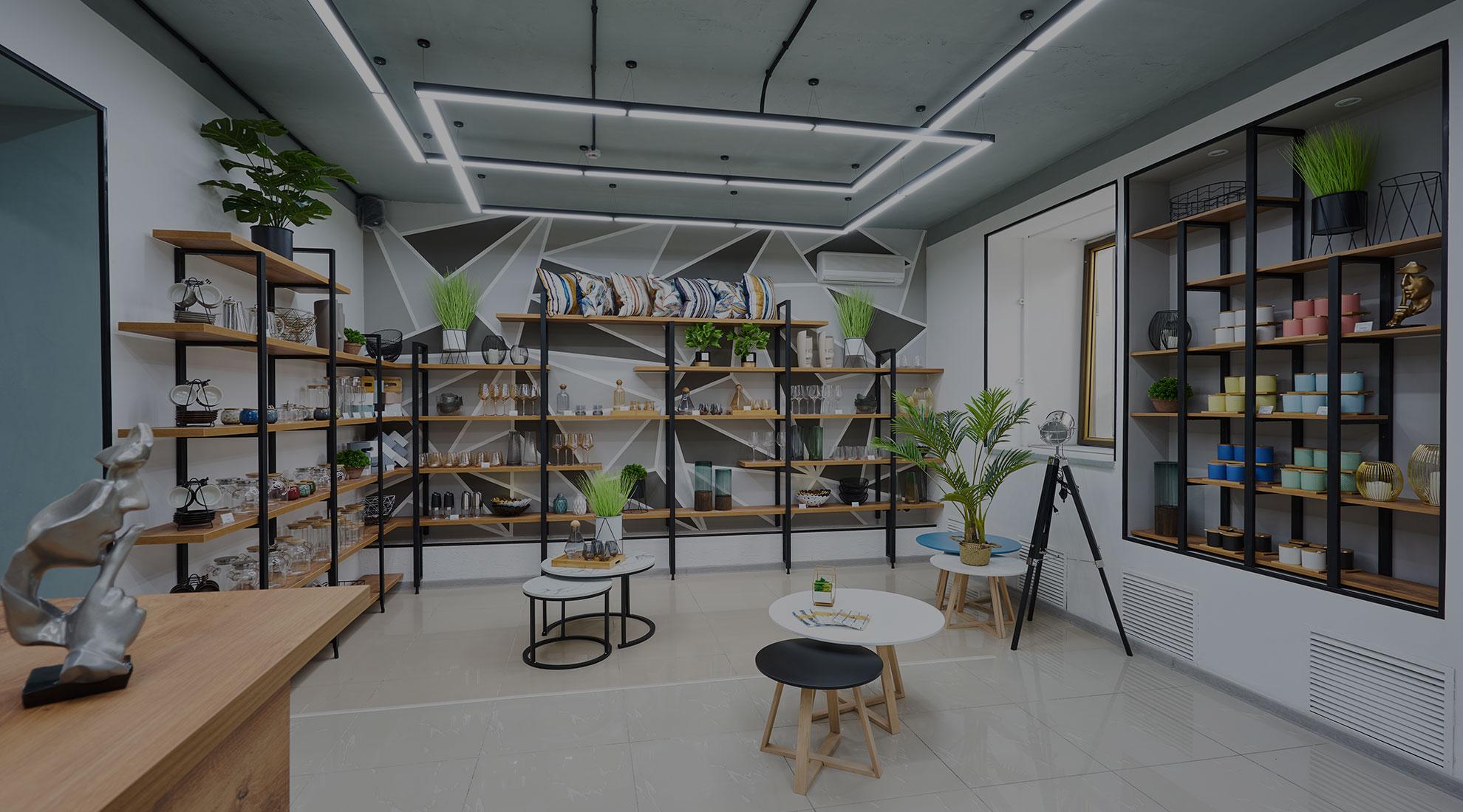 фотография магазина - отдел дизайнерский предметов